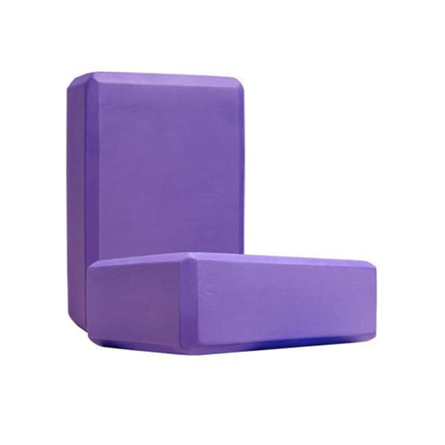 Yoga Saver Foam Blocks Set (Pack of 2)