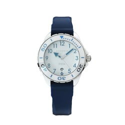 Android Women's 'Exotic 2' Blue Rubber Strap Watch