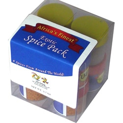 Set of 8 Africa's Finest Exotic Spice Pack (Nigeria)