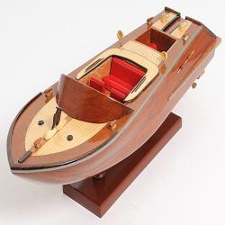 OMH Wooden Runabout Scale Model
