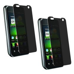 Privacy Screen Protector for LG G2X (Pack of 2)