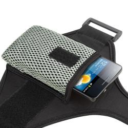 INSTEN Black Universal Armband Sportband