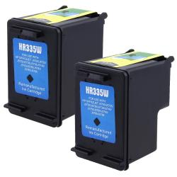 2-pack HP 74 Black Ink Cartridge CB335WN (Remanufactured)