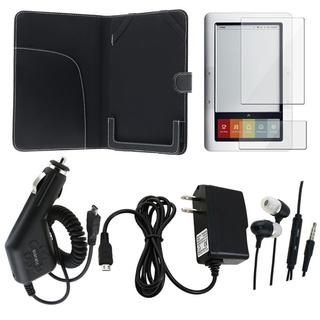 Leather Case/ Protector/ Charger/ Headset for Barnes & Noble Nook