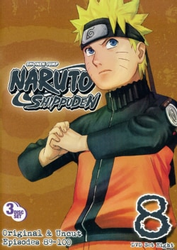 Naruto Shippuden Box Set 8 (DVD)