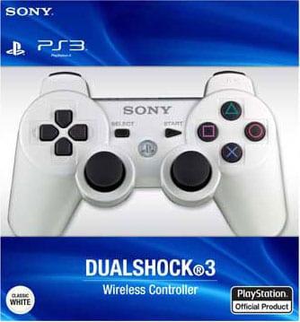 PS3 - Dualshock 3 White (Wireless)