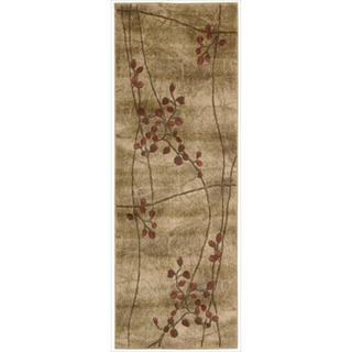 Nourison Summerfield Latte Rug (2'3 x 8')