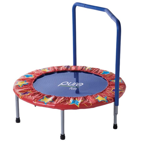 Pure Fun 36-inch Kids Mini Trampoline