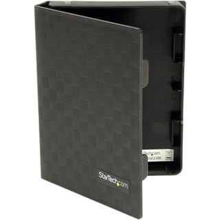 StarTech.com 2.5in Anti-Static Hard Drive Protector Case - Black (3pk