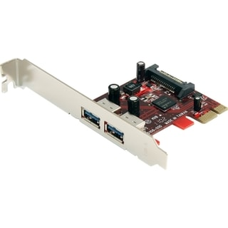 StarTech.com 2 Port SuperSpeed USB 3.0 PCI Express Card with UASP - S