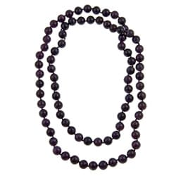 Pearlz Ocean Amethyst Knotted Endless Necklace