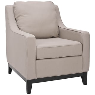 Safavieh Uptown Linen Beige Club Chair