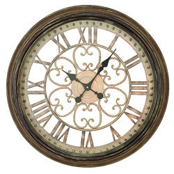 Hampton Metal Art Wall Clock
