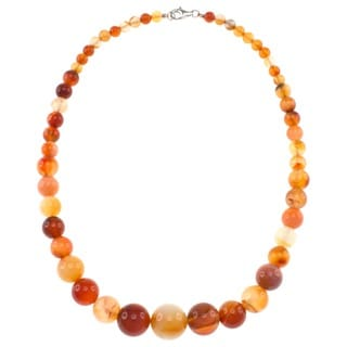Pearlz Ocean Carnelian Journey Necklace