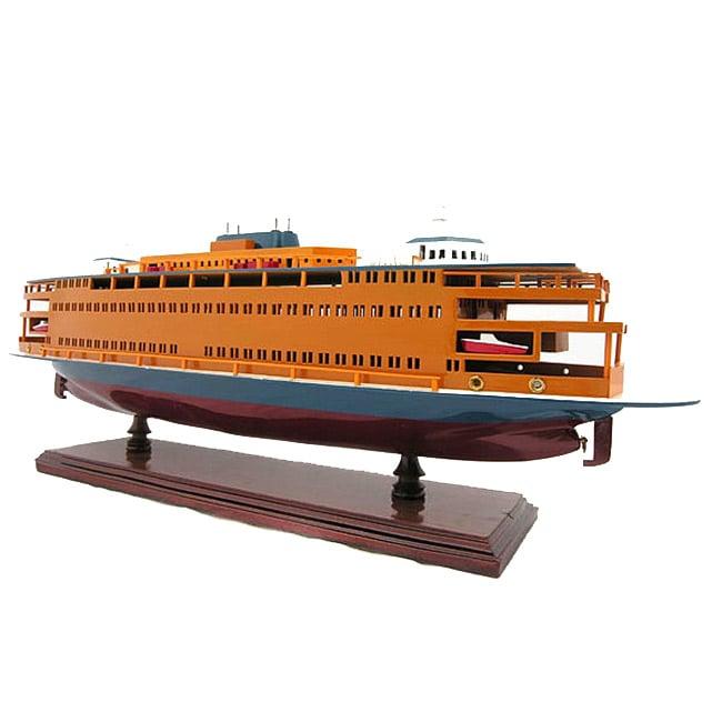 Old Modern Handicrafts State Island Ferry Model