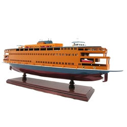 Old Modern Handicrafts State Island Ferry Model