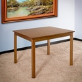 Birch Wood Square Dining Table