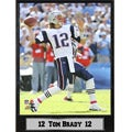 New England Patriots Tom Brady Stat Plaque
