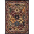 Hand-Tufted Royal Garden Multicolored Floral Stain-Resistant Wool Rug (8' x 11')
