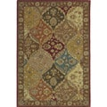 Hand-tufted Royal Garden Multicolor Ornate Wool Rug (3'3 x 5'3)
