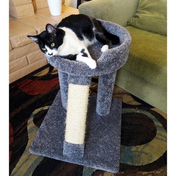 "New Cat Condos 24"" Elevated Cat Bed Tree"