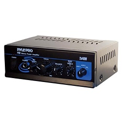 Pyle Mini 2 X 40 Watts Stereo Power Amplifier (Refurbished)