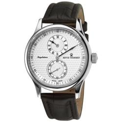 Revue Thommen Men's 16065.2532 'Regulator' Silver Face Automatic Regulator Watch