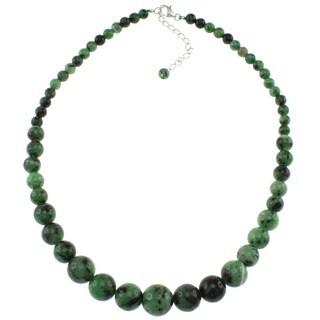 Pearlz Ocean Ruby Zoisite Journey Necklace
