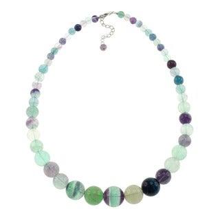 Pearlz Ocean Flourite Journey Necklace