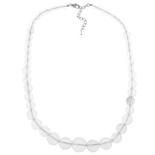 Pearlz Ocean White Quartz Journey Necklace