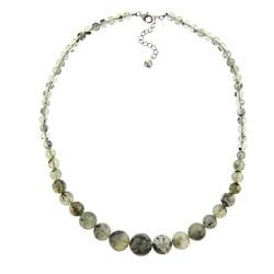 Pearlz Ocean Prehnite Journey Necklace