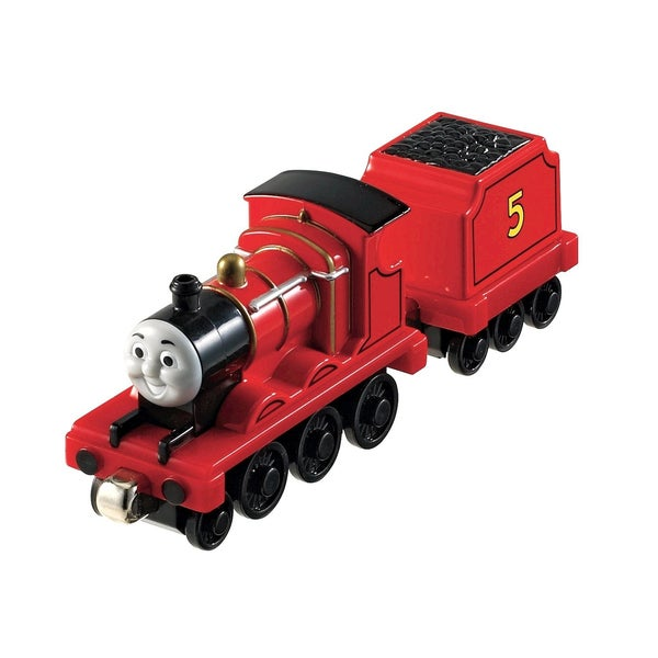 Fisher Price Thomas and Friends Medium 'James' Toy Train Engine