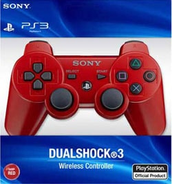 PS3 - DualShock 3 Controller Deep Red (Wireless)