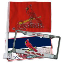 St. Louis Cardinals Automotive Fan Pack