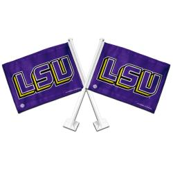 LSU Tigers Car Flags (Set of 2)