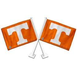 Tennessee Volunteers Car Flags (Set of 2)