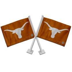 Texas Longhorns Car Flags (Set of 2)