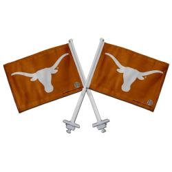Texas Longhorns Truck Flags (Set of 2)