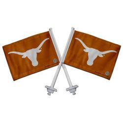 Texas Longhorns Truck Flags (Set of 2)
