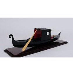 Old Modern Handicrafts Small Venetian Gondola Model
