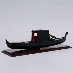 Old Modern Handicrafts Small Venetian Gondola Model
