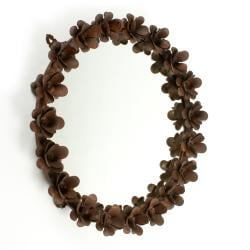 Iron Flower Mirror Frame (India)