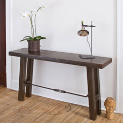 Iron Turnbuckle Console Table (India)