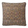 Corona Decor European-woven Vintage Flora Brocade Pillow