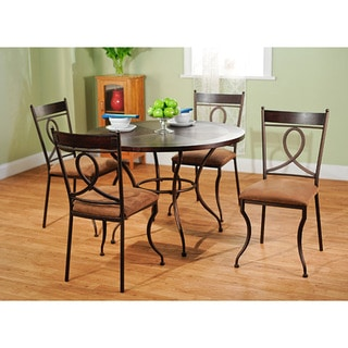 Simple Living Elsa 5-piece Metal Dining Set