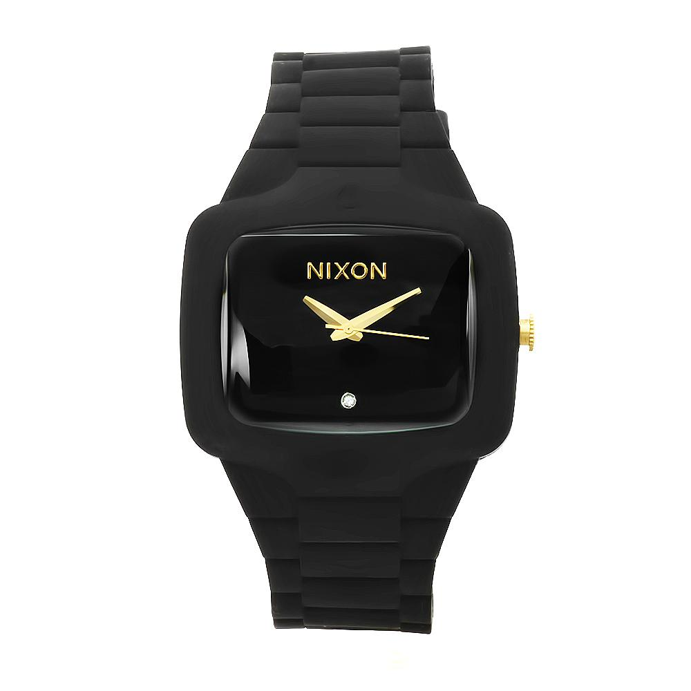 Nixon Men's Rubber Quartz Player Watch