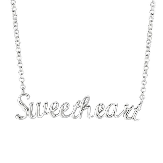 Sterling Silver Expression Sweetheart Necklace