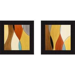 Lanie Loreth 'Summer Coalescence I and II' Framed Print