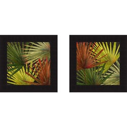 Patricia Pinto 'New Organic I and II' Framed Print