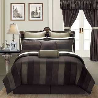 Midnight by EverRouge California King-size 24-piece Room in a Bag with Sheet Set